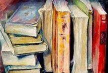BIBLIOTECA/ LIBRARY / El libro y las bibliotecas como objetos  en la vida real y en el arte