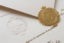 Convites de Casamento - Papel e Estilo