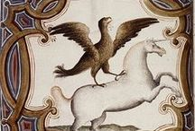 Unicornios / Licornes / Pintura, dibujo e ilustraciones de unicornios