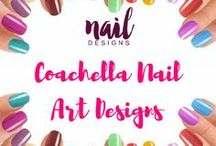 Coachella Nail Art Designs / Coachella Weekend 2 is taking over everything at the moment. Don't be left behind. Experience Coachella right in your fingertips.  Discover our top picks.