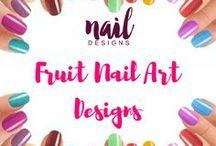 Fruit Nail Art Designs / Get fruity in your nail-y. Fruit nail art inspiration that's good for the eyes.