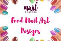 Food Nail Art Designs / Can't get enough of food. Express it through your nails too.