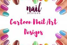 Cartoon Nail Art Designs / Express your love for your favorite cartoons not just in words but also in nails. Find animated inspiration here.  #cartoonnails #cartoonnail #animatednails #aninatednail #cartoonnailart #cartoonnaildesign