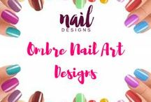 Ombre Nail Art Designs / Ombre nail inspirations for your next nail art project. #ombre #ombrenails #ombrenail #nailart