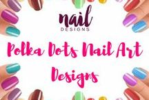 Polka Dots Nail Art Designs / Polka dots bring good luck. Hence paint your nails with it and be lucky everyday.