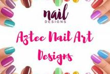 Aztec Nail Art Designs / Time to show your love for tribal nail art and take it to the next level.