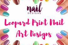 Leopard Nail Art Designs / Pop some feisty prints on your nails today. Discover some great leopard nail prints.