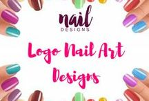Logo Nail Art Designs / Get logo inspired and reflect it in your nails too.