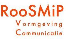 RooSMiP / U wilt uw product(en) of diensten op een onderscheidende en opvallende wijze op de markt zetten? U zoekt een bureau dat u adviseert en werk uit handen neemt? Maak dan kennis met RooSMiP Vormgeving & Communicatie