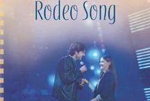Rodeo Song - Book 6 Texas rodeo series / Jenna Wentworth stayed in her small hometown to pursue her interior decorating dream while her high school sweetheart, Garrett Steele chased his Country music star. Jenna's dream brought fulfillment while Garrett spiraled on a destructive path of alcohol and groupies. Eight years later, Garrett has cleaned up his act. They're reunited when she attends his concert to see if her traitorous heart is over him. Things get complicated, when Garrett drags her onstage and sings her a love song.
