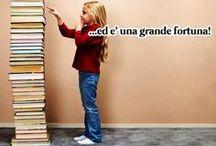 Amore per libri e lettura / Pensieri e immagini d'amore per i libri e la lettura, bibliofilia, libridine, collezionismo.