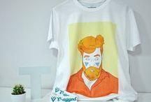 Camisetas para chicos T-agged