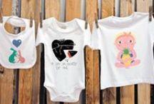 T-agged Kids / Bodies y camisetas personalizadas para bebés y niños con las obras de artistas independientes made in Barcelona  #baby #kids #moda #arte