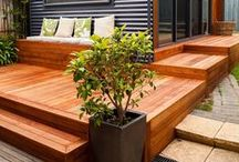 Simple Decks / A deck is a great way to add a beautiful outdoor living area to your home and McCoy's has all the lumber, wood stains and other supplies to make your dream a reality. #decks #lumber #woodstain