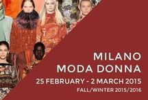 #MilanoFashion Week 2015 / Direttamente dalla Camera della moda di Milano, la settimana della Moda Donna 2015. milanomodadonna.it/it/ F/W 2015-2016