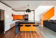 Modern Kitchens / Inspiration for those who love to cook but prefer a modern, sleek kitchen space.