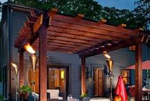 Pergolas & Sheds / Adding a pergola to your outdoors to provide some shade? Or perhaps your garden shed needs updated? Either way, this board will have plenty of ideas for you. #diy #backyards #pergolas #sheds / by McCoy's Building Supply