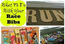 Running Crafts / Feeling crafty? DIY ideas for running crafts. Don't know what to do with your your shirts, bibs, medals get creative....