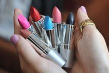 Lip gloss and Lipstick