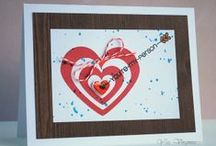 CASFridays: Cupid's Arrows / 4 x 6 clear photopolymer set that will delight your mojo for Valentine's Day and more. $15  Be sure to check out the coordinating Fri-Die set, Heart Board, sold separately. www.cas-ualfridaysstamps.com