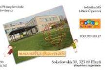 Fotovizitky pro školy / Vyrábíme foto-vizitky pro školy, na ktrých může být znak nebo budova školy.