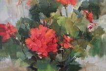 FLOWERS - GERANIUMS
