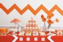 black orange Party / Deko // Food // Games