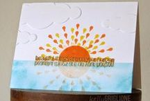 CASFridays: Sunbeams / Sunbeams, 4 x 6 stamp set of 13   A gorgeous sun image paired with bright and happy sentiment that will make your cards and layouts shine! Made in the USA of the finest clear photopolymer. www.cas-ualfridaysstamps.com