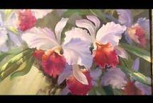 ART  YOUTUBE - FLOWERS