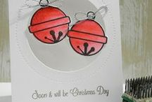 CASFridays: Sleigh Bells / Beautiful bells and tons of fun sentiments! This 4 x 6 clear photopolymer stamp set will have you creating super cards, tags, layouts and more!  made in the USA. www.cas-ualfridaysstamps.com  #casfridays #bells #jinglebells #sleighbells #christmas #stamps #winter