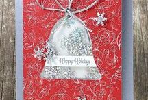 CASFridays: Bell Tags Fri-Dies / This pretty little tag set will dress up your cards, layouts and packages.  Wafer thin steel dies that will work with most leading die cut systems. Made in the USA  www.cas-ualfridaysstamps.com  #fri-dies #casfridays #dies #bells #jinglebells #sleighbells