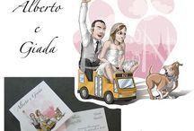 Partecipazioni di nozze / le mie partecipazioni