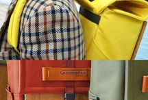 Woodsack Backpack Collection / A collection of Goodstart Jones woodsack backpacks and lifestyle.