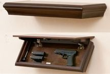 Hiding Guns and Gear / This board is all about stashing your Guns and Gear.  Features creative ways to hide your stuff in your home, office or automobile.