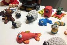 Modellieren / Modelliermassen / Gips, Ton, lufttrocknende Modelliermassen und Knete. Modellieren und formen kommt bei Erwachsenen und Kindern gleichermaßen gut an. Werdet kreativ und gestaltet alltägliche Gegenstände oder fantasievolle Objekte.