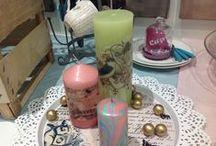 Kerzen selber machen - mit Wachs gestalten / Kerzen selber anfertigen und verzieren - es gibt so viele tolle Gelegenheiten - Die Hochzeit, die Taufe, Kommunion und Konfirmation - das Weihnachtsfest und vieles mehr... Hier sammeln wir für Euch tolle Anregungen...
