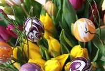 DIY Ostern & Frühling / Bastelideen und Produkte für das Osterfest und die Frühlingszeit