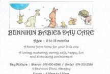 Shaxlee's - Bunnikin Babies Daycare / Ideas for my baby daycare
