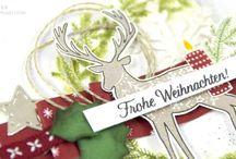 Stampin'up! | Weihnachten | Winter | Karten | Verpackungen / Weihnachtskarten, Winterideen, Geschenke, Verpackungen, Dekoration, Stampin'up!