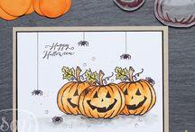 DIY | Halloween | Spooky | Ideen | Stampin'up! / Halloween, Geschenke, Spooky, Karten, Dekoration, Geister ....