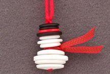 Decorațiuni de brad / Idei pentru decorațiuni handmade pentru bradul de Crăciun