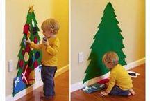 În loc de brad adevărat / Idei pentru un brad de Crăciun altfel