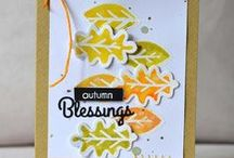 CASFridays: Acorn Fri-Dies / This awesome set of dies from CAS-ual Fridays Stamps is fun to  use on its own, but for even more fun, pair it with its companion stamp set, Autumn Blessings, sold separately.  Made in the USA $17.50 www.cas-ualfridaysstamps.com