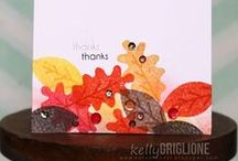 CASFridays: Autumn Blessings /  4 x 6 clear photopolymer stamp set $15.00  made in the USA www.cas-ualfridaysstamps.com   a delightful set for autumn and beyond.