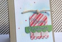 Noel Fri-Dies / A wonderful set of word dies perfect for holiday cards. $12.99 made in the USA www.cas-ualfridaysstamps.com