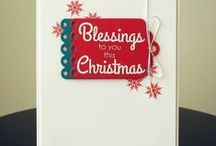 CASFridays: Lovely Blessings / Lovely Blessings is a 4 x 6 clear photopolymer stamp set made in the USA by www.cas-ualfridaysstamps.com $15.00  Perfect for all your holiday card making.