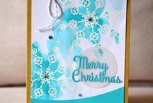 CASFridays: Lovely Snowflake / Lovely Snowflake is a 4 x 6 clear photopolymer stamp set made in the USA by www.cas-ualfridaysstamps.com $15.00