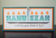 CASFridays: Festival of Lights and Festival Fri-Dies / Stamps and dies for Hanukkah!  Festival of lights is a 4 x 6 clear photopolymer stamp set $15.00 and Festival is a set of companion dies, 10.00. Each sold separately, both made in the USA. www.cas-ualfridaysstamps.com