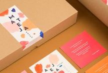 Packaging design concepts / This is a selection of really cool and inspiring packaging design concepts for stores, webshops, offices and more. Get your inspo on while branding your next project!