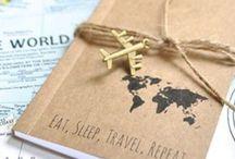 Traveljournal | Reisetagebuch | Ideen | Inspiration / Reisetagebuch, Notizbuch, Reiserinnerungen, DIY
